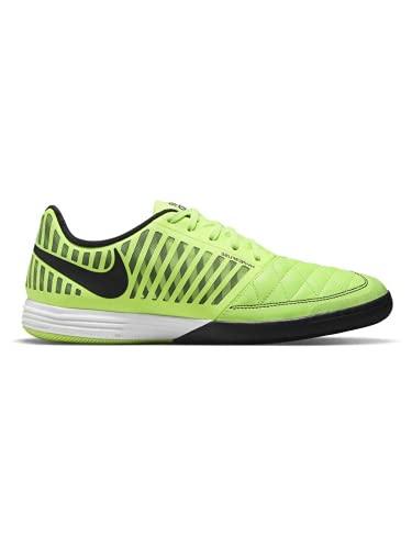 Nike Lunar Gato II IC, Soccer Shoe Hombre, Ghost Green/Black-White, 45.5 EU