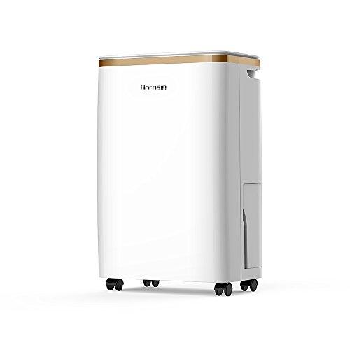 DOROSIN Home ontvochtiger HD010 20 punten/dag met droogfunctie, stil en comfortabel te bedienen, afvoer door slang of waterreservoir