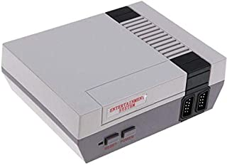 Retro Classic Game Console NES TV 8-Bit Built-in 500 Games, 2 Controllers Included