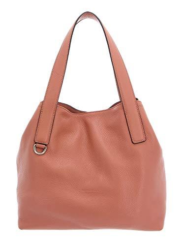 Coccinelle Mila Shoulder Bag Litchi
