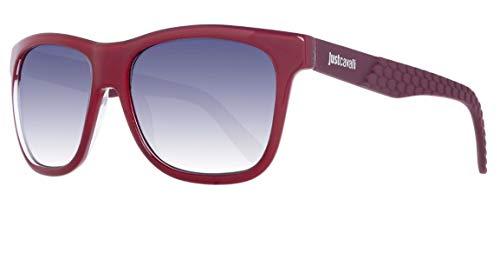 Just Cavalli Sonnenbrille JC648S 66C Occhiali da Sole, Rosso (Rot), 54 Unisex-Adulto