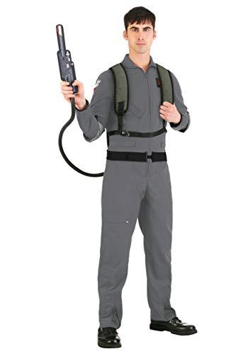 Ghostbusters 2: Disfraz de cosplay para hombre, talla grande - gris - 2X