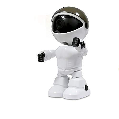 ZJ seguridad para el hogar inteligente robot cámara bebé Monitores CCTV cámara de vigilancia cámara IP 1080 p HD inalámbrico WiFi cámara visión nocturna