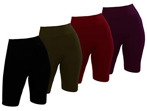 C CRUSH ORIGINAL Ladies Seamless Basic Bike Shorts