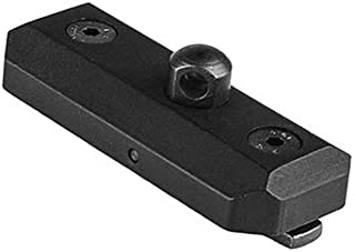 NcSTAR VMMLBA M-LOK Bipod Adapter, Black Anodized Aluminum