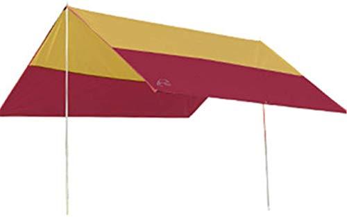 ZJDU Tiendas de campaña para Acampar Sombrilla al Aire Libre Toldo Tabla Toldo Playa Techo Tienda Tarjeta Toldo Equipo de Camping (Color: Azul, Tamaño: 300x300x205cm)