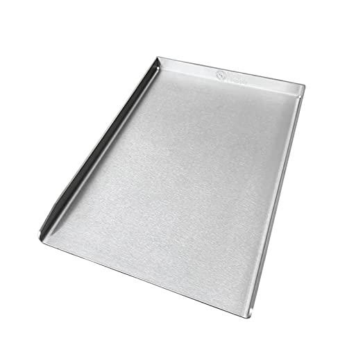 Grill Supply Plancha/Grillplatte | Edelstahl | Made in Germany - (Burnhard Edition (23.5x41.5cm)