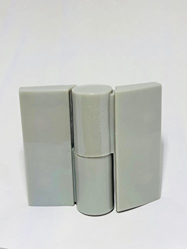 CABSAN automatische gordelband links van nylon voor sanitaire cabines met vouwdeur RAL 7038 grijs