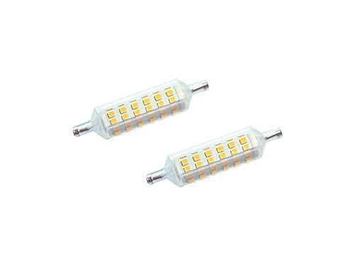 2x DYA LED-lamp R7s Linear 7W 4000K 595lm natuurlijk licht super dun