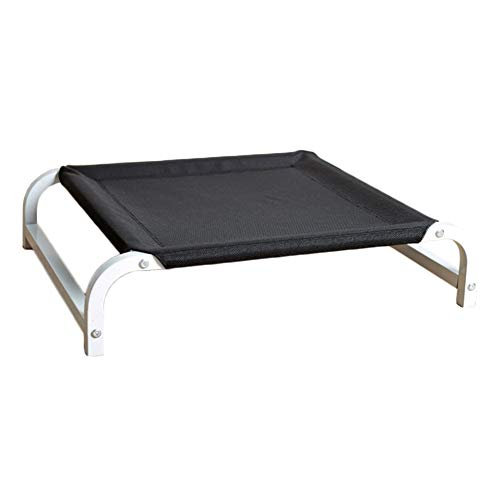 HYDT Elevated Dog Bed - Steel Frame, Breathable Mesh Fabric, Indestructible...