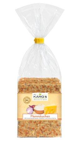 Dr. Karg Flammkuchen vegetarisch Feinschmecker-Knäckebrot,10er Pack