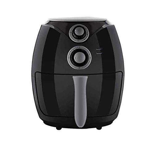 SMSOM Air Fryer, ruimte, compact om stroom te besparen, heteluchtfriteuse zonder olie, gezond fornuis, tijd/instelling van de timer