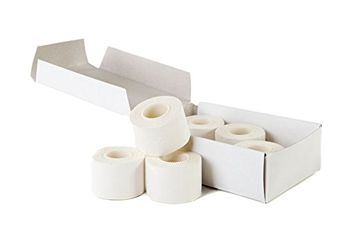 Zinc Oxide Tearable Sports Tape - Pack of 12 (5.0cm x 10M)