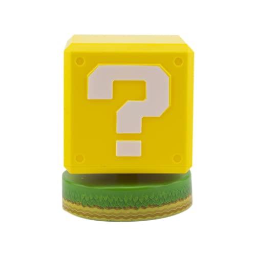 Super Mario Question Block 3D Leuchte Icon Light Nintendo
