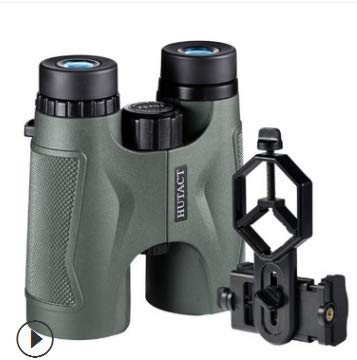 LFFCC Binocular 10x42 with Tripod Mount and Carry Case | HD Quality | BAK 4 Roof Prism | Best for Bird Watching, Hunting, Camping, Travel, Hiking. Lightweight, Compact, Fogproof & Waterproof