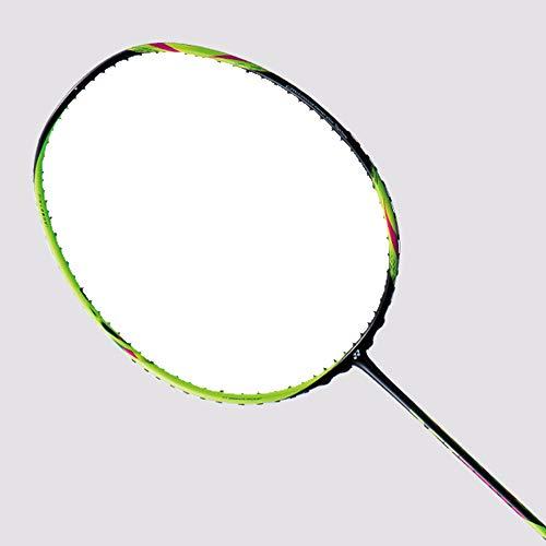 YONEX Astrox 6 Badmintonschläger (Schwarz/Lime) 4U5 (unbesaitet)
