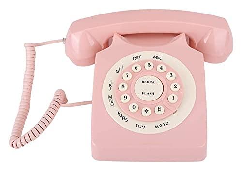 NULIPINBO Téléphones Fixes Téléphone à Domicile Téléphone Fixe Téléphone Fixe téléphonie Fixe for téléphone Fixe à la Maison Téléphone Fixe, téléphone avec Clavier numérique
