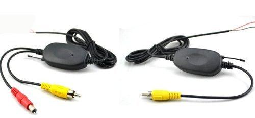 BW Transmetteur-récepteur sans Fil pour Moniteur de caméra de recul 2,4 GHz
