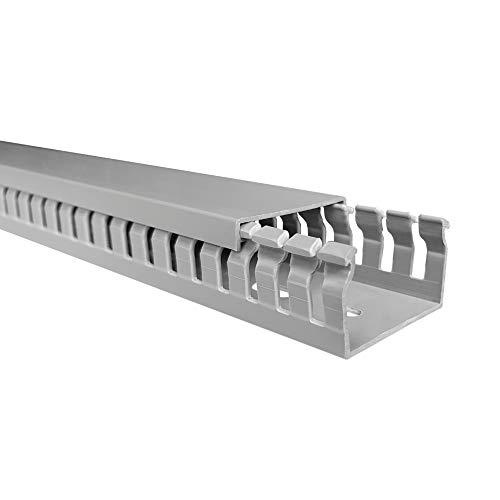 elettrocanali Schlitz Schlitz Kabelkanal–Kabelkanal mit Deckel S 4/6/440x 25mm