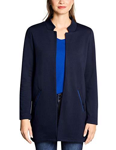 Street One Damen 211057 Jacke, Blau (deep Blue 11238), (Herstellergröße:42)