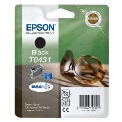 Epson T0431 Tintenpatrone Sonnenbrille, Singlepack schwarz