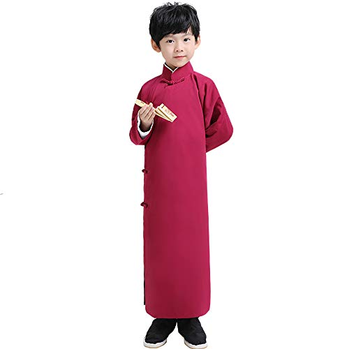 Find Bargain FXNN National Service - Xiangsheng Service Allegro Costume Apparel (Color : Red Wine, S...