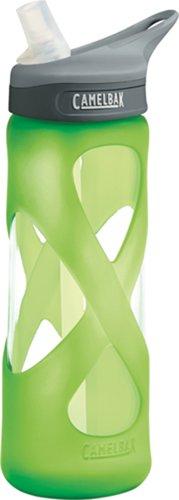 Camelbak Eddy Glass .7-Liter Water Bottle, Lime