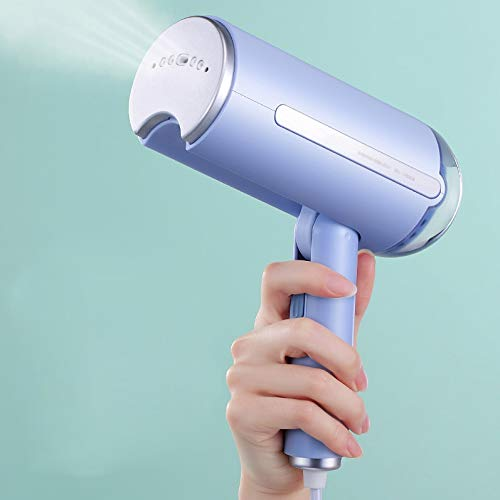 Great Deal! XLEVE Handheld Garment Steamer Home Portable Steam Iron Clothes Brushes for Home Travel ...