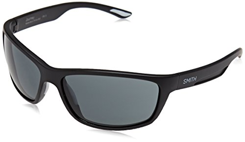 SMITH Journey IR 003 63 Gafas de sol, Negro (Matt Black/Grey), Unisex Adulto