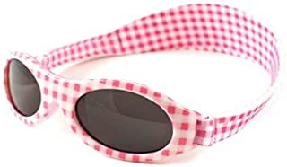 Baby Banz Sunglasses Pink Gingham 0-2 Years
