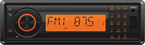 Phonocar VM016 1-DIN Auto/LKW/Bus Autoradio mit 12-24V - Bluetooth/USB/SD/DAB+ - Schwarz
