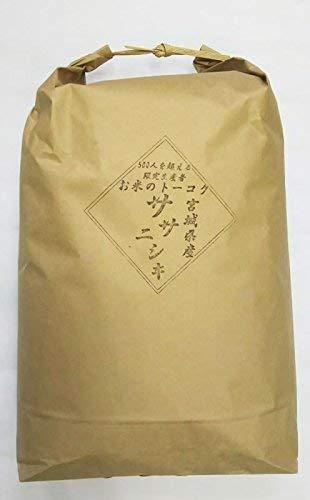 令和2年産 宮城県産 ササニシキ10kg 玄米