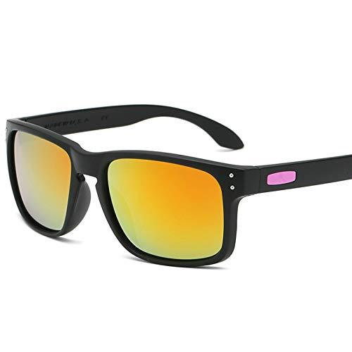 XMYNB Mujer Gafas de Sol Gafas De Sol Cuadradas Hombres Mujeres Clásico Vintage Gafas para El Viaje De Deportes Conducir Driver O Gafas De Sol Uv400