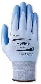 Ansell 012-11-518-10 Hyflex 11-518 Light Cut-Resistant Glove, Size 10