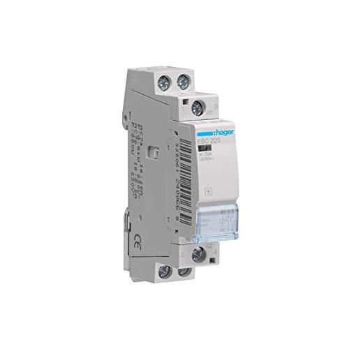 Hager ESC225 Contactor, 25A, 2NA, 230V