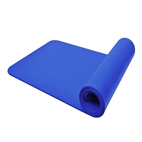 FXINYI Esterilla De Yoga Antideslizante Fitness Para Rodillas Pilates, CojíN Entrenamiento Grueso Proporcionar Alivio Rodillas, Codos, Apoyo CóModo, Equilibrio Deportivo Equipo 1830 x 600 x 10 mm