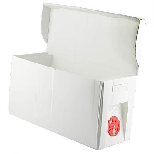 HERCHR Caja de cartón Nuc Caja Colmena de Abejas Colmena Marco Panal Apicultura Apicultura Equipo Apto para la polinización de Abejas -ABS