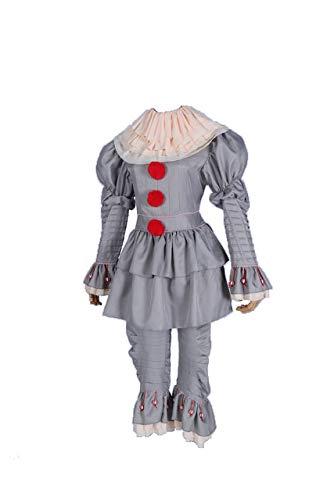 WSJDE Halloween Stephen King ist es: Kapitel Zwei Pennywise Cosplay Kostüm Unisex Clown Halloween Kostüme XXL 2