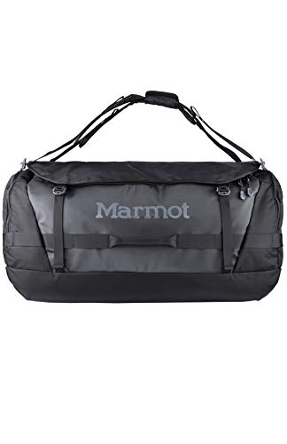 Marmot Grote en robuuste reistas, sporttas, Xl weekender, 105l inhoud Long Hauler Duffel Bag Expedition, Black, One Size, 38680