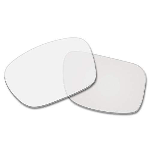 Betterun Polycarbonat polarisierte Ersatzgläser für Oakley Scalpel, (Hd Clear - Polycarbonat), Einheitsgröße