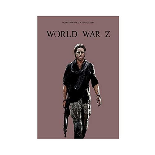 Poster su tela con film classici della seconda guerra mondiale, decorazione da parete per soggiorno, camera da letto, decorazione senza cornice: 30 x 45 cm