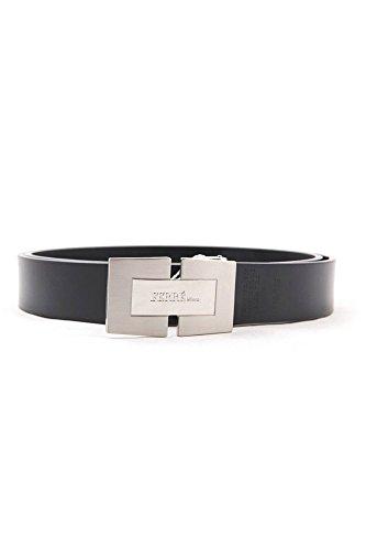 Gianfranco Ferrè 1811-U900 Cinturon de piel Hombre negro 110