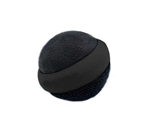 Best Shopper - Awesome Screen TF Screen Cleaning Ball Dual Action Microfiber for Touch Screen Smart Phone/Tablet/Laptop - Black