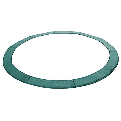 Andreas Dell Randabdeckung Federabdeckung Randschutz Schutz für Trampolin von 250 bis 460 cm (Grün, 430)
