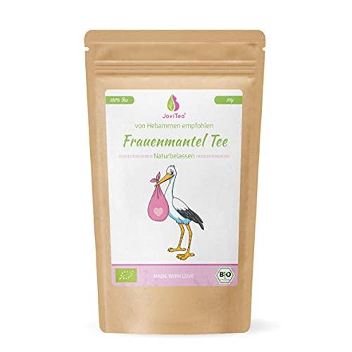 JoviTea® Frauenmanteltee BIO, geeignet vor der Schwangerschaft, wird meist in der 2. Zyklushälfte...
