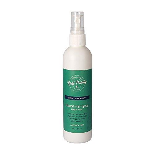 Real Purity Haarspray ohne Parfüm, medium hold, 240 ml
