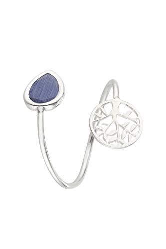 Córdoba Jewels | Anillos en Plata de Ley 925 con diseño Gota Montana Árbol de la Vida Silver
