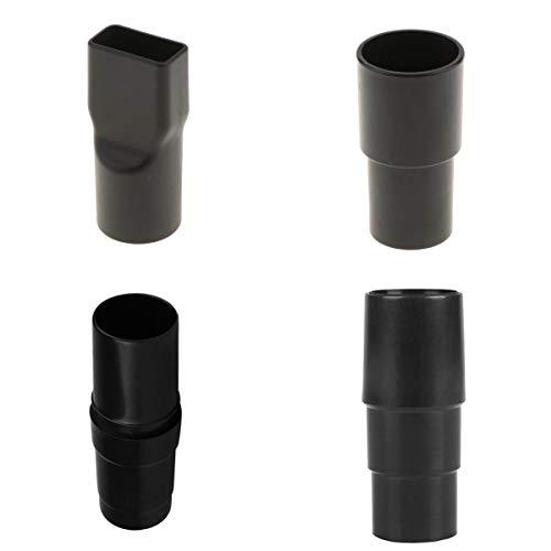 4 Pezzi Adattatori Di Ricambio Universali Adattatore Per Tubo Flessibile In Plastica Nera 32mm 35mm