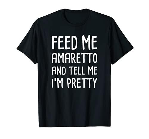 Licor italiano - Amaretto lindo y divertido Camiseta
