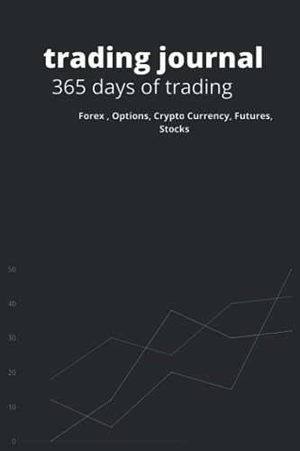 365 day of trading: daily Trading Journal log and investment journal notebook 182 Pages Paperback